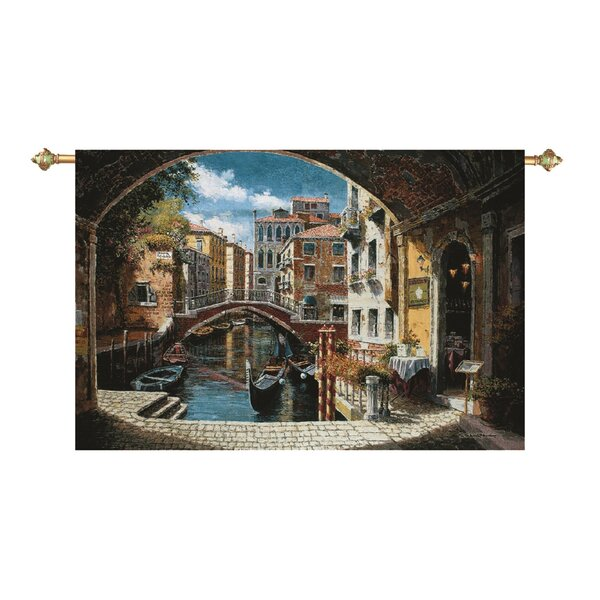 Archway to Venice Tapestry by Fleur De Lis Living