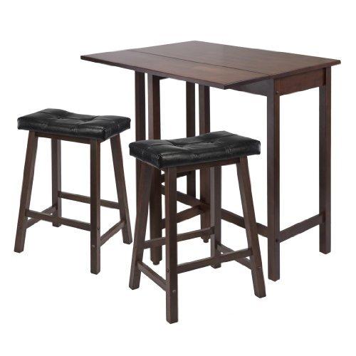 3 Piece Counter Height Table Set  sc 1 st  Wayfair & Luxury Home 3 Piece Counter Height Table Set \u0026 Reviews | Wayfair