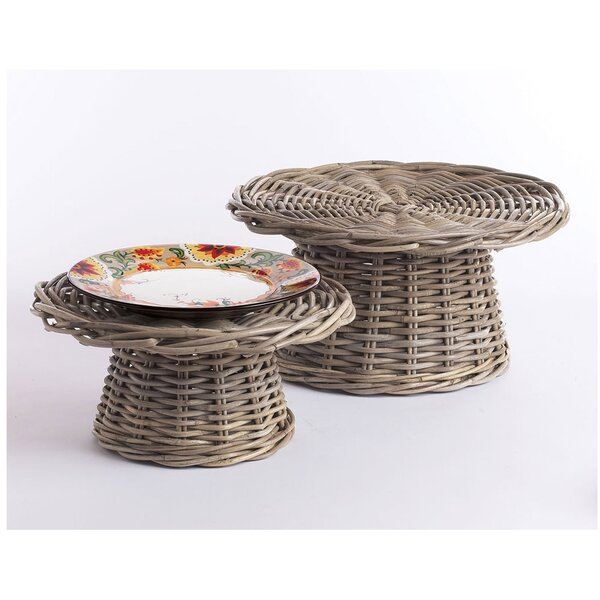 Morrissette  Food Risers  Lazy susan 2 Piece Set by One Allium Way
