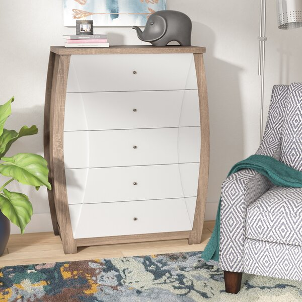 Ewarton Transitional 5 Drawer Accent Chest by Latitude Run Latitude Run