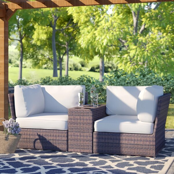 Widener 3 Piece Seating Group by Sol 72 Outdoor