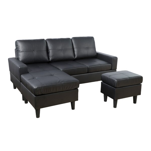 Hillendale Reversible Sectional with Ottoman by Latitude Run
