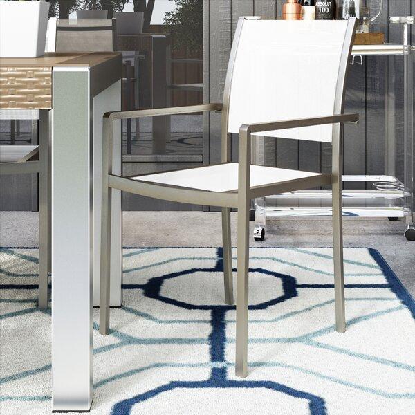 David 6 Stacking Patio Dining Chairs (Set of 6) by Orren Ellis Orren Ellis