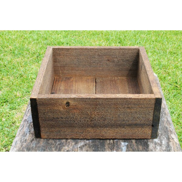 Escaler Square Wood Planter Box by Loon Peak