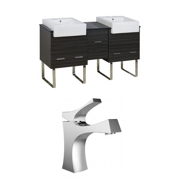 Alican 60 Double Bathroom Vanity Set