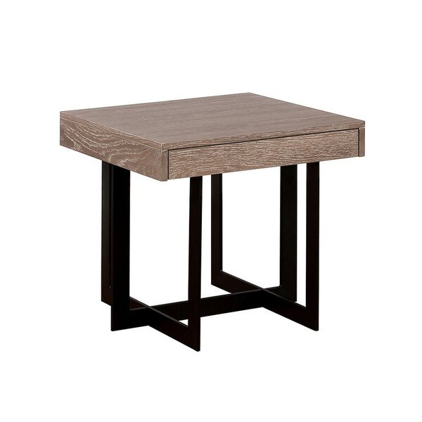 Colucci Cross Legs End Table By Foundry Select