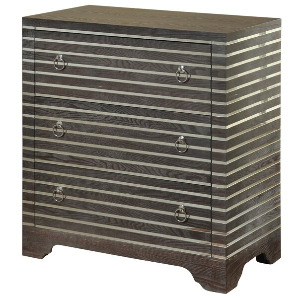 Gianetta 3 Drawer Chest by World Menagerie
