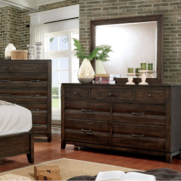 Michaelson 7 Drawer Dresser with Mirror by Gracie Oaks