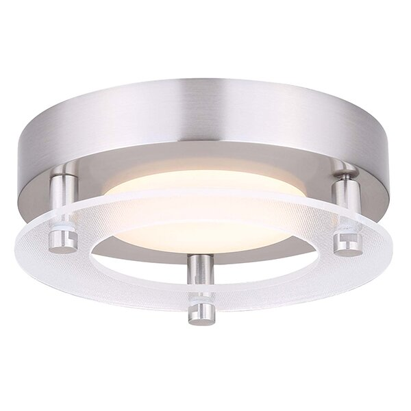 Roestel-Kuchenbuch LED Outdoor Flush Mount by Orren Ellis