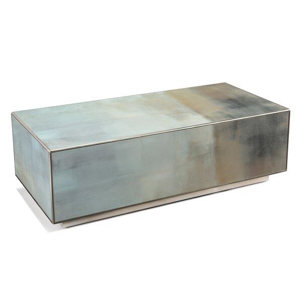 Slated Solid Coffee Table By John-Richard