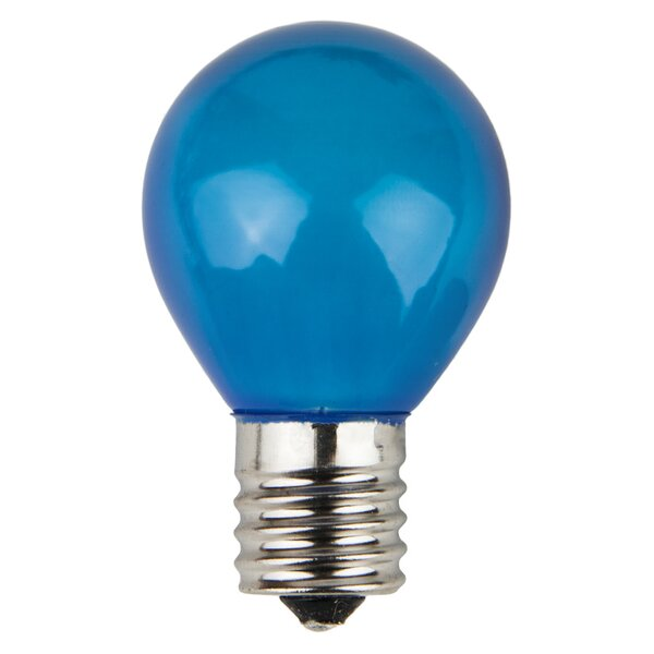 10W Blue 130-Volt Light Bulb (Pack of 25) by Wintergreen Lighting