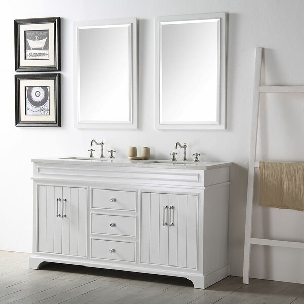 Dunwich 60 Double Bathroom Vanity Set with Mirror