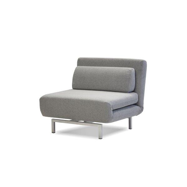 Philipston Swivel Convertible Chair by Orren Ellis Orren Ellis