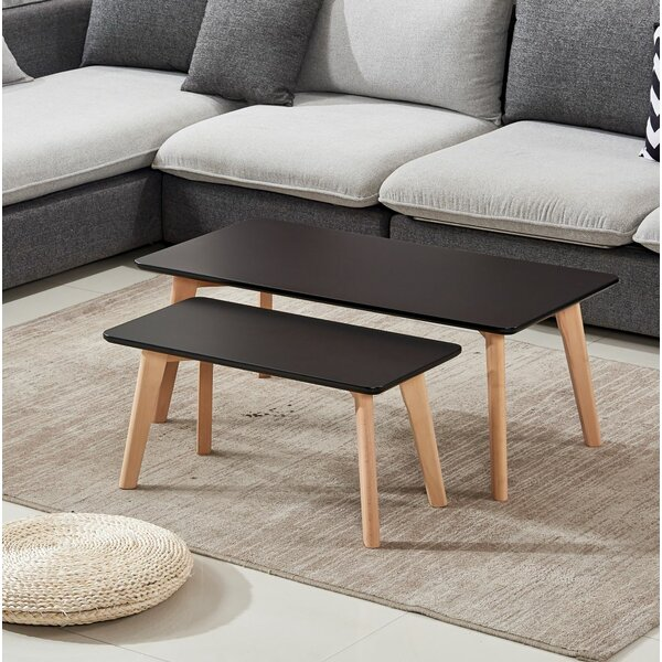 Buy clear Brayton 2 Piece Coffee Table Set by George Oliver