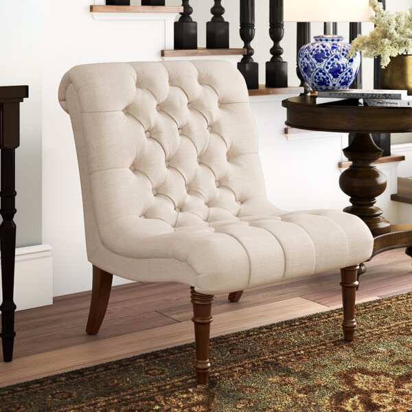 Barnkine Slipper Chair by Astoria Grand Astoria Grand