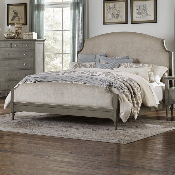 Sizemore Upholstered Standard Bed by One Allium Way
