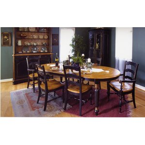 Village Square 7 Drop Leaf Piece Dining Set (Set of 7) by South Sea Rattan