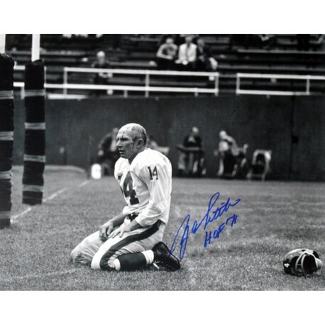 Y.A. Tittle Agony of Defeat Blood Graphic Art by Steiner Sports