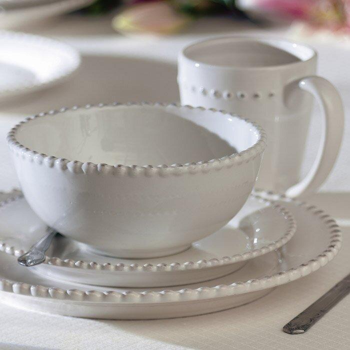 Milford 16 Piece Dinnerware Set Service for 4 & Birch Lane™ Milford 16 Piece Dinnerware Set Service for 4 u0026 Reviews ...