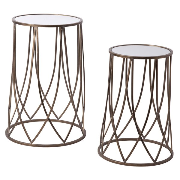 Toth 2 Piece Nesting Tables by Mercer41