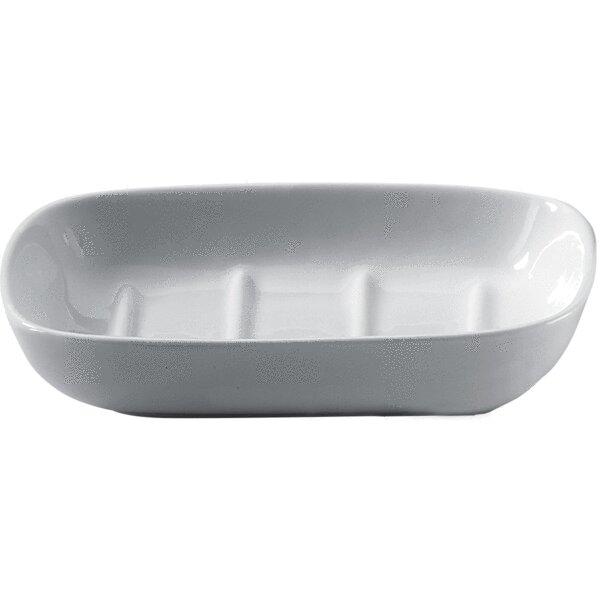 Craney Countertop Saver Tray Porcelain Soap Dish by Ebern Designs