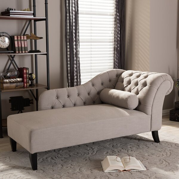 Rudd Tufted Chaise Lounge by Willa Arlo Interiors