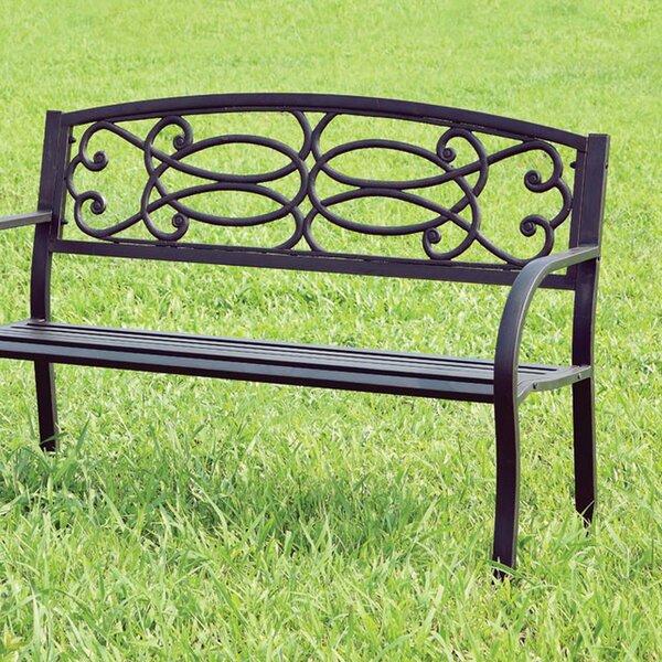 Boyd Steel Garden Bench by August Grove
