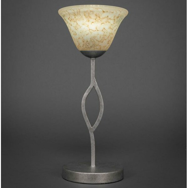 Hiroko 16.5 Italian Glass Shade Table Lamp by Red Barrel Studio