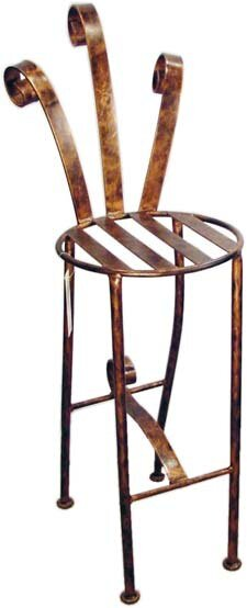 Bird of Paradise 29 Patio Bar Stool by Metrotex Designs