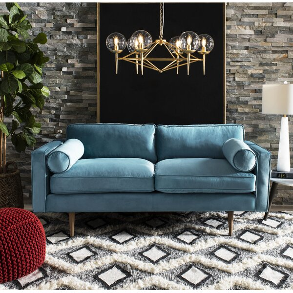 Highest Quality Chase Velvet Sofa by Modern Rustic Interiors by Modern Rustic Interiors
