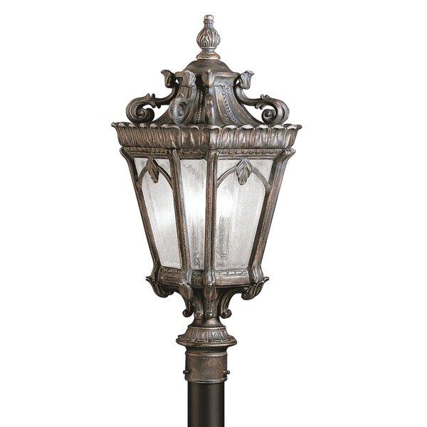 Tournai Outdoor 3-Light Lantern Head by Kichler