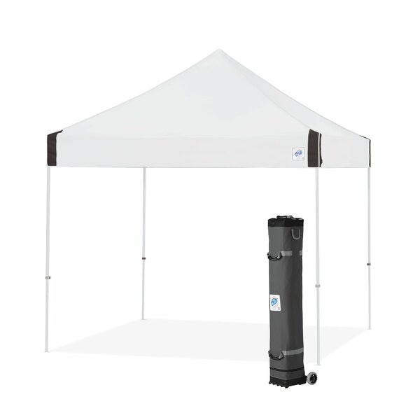 Vantage 10 Ft. W x 10 Ft. D Steel Pop-Up Canopy by E-Z UP