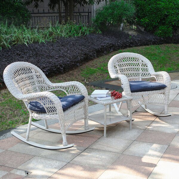 Raymer 3 Piece Seating Group with Cushions by August Grove
