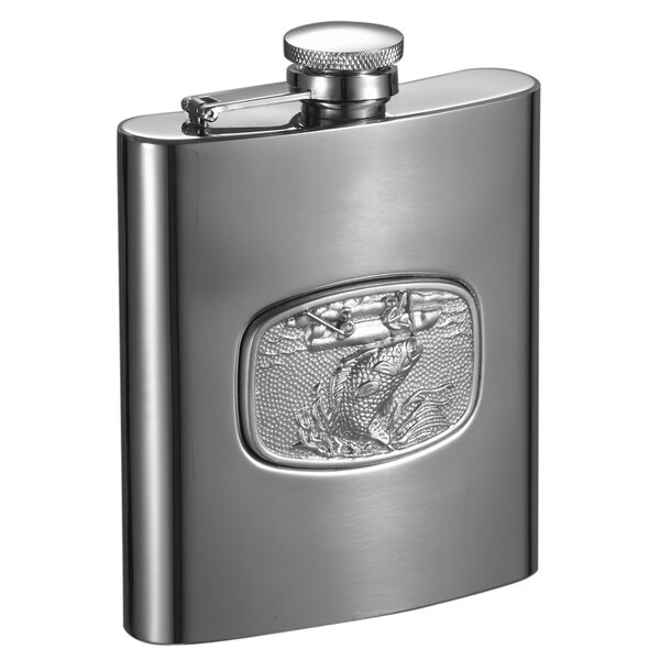 Bass Fishing Liquor Flask by Visol Products