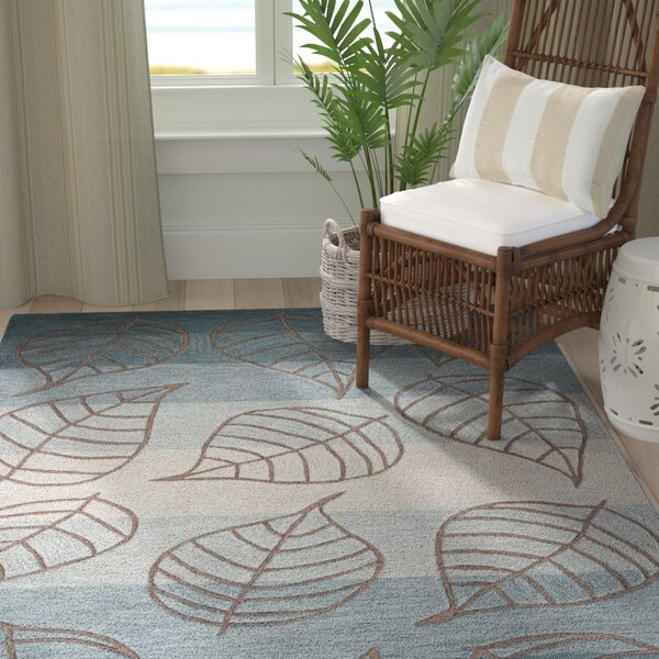 Alethea Hand-Tufted Ocean Layers Area Rug by Bayou Breeze