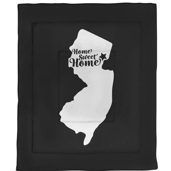 Newark Home Sweet Single Reversible Comforter