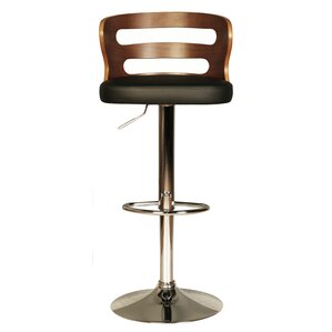 erith height adjustable swivel bar stool