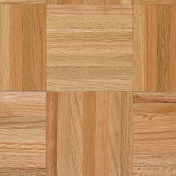 Urethane Parquet 12 Solid Oak Parquet Hardwood Flooring in High Glossy Standard by Armstrong Flooring