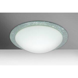 Ring 2-Light Outdoor Flush Mount By Besa Lighting Outdoor Lighting