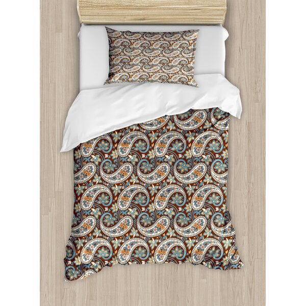 Paisley Duvet Set by Ambesonne