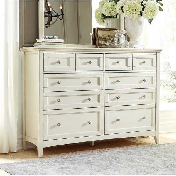 Burris 10 Drawer Chest by Alcott Hill