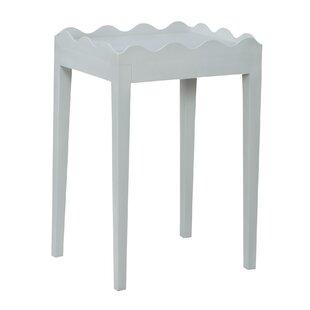 Beau Felicien Scalloped End Table