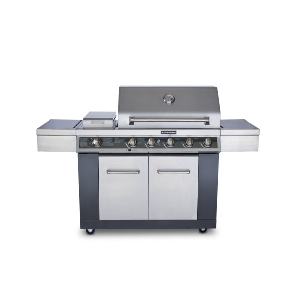 5-Burner Liquid Propane Gas Grill - 720-0709C by KitchenAid