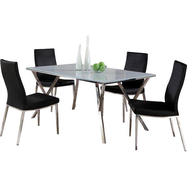 Decimus 5 Piece Rectangular Dining Set by Orren Ellis