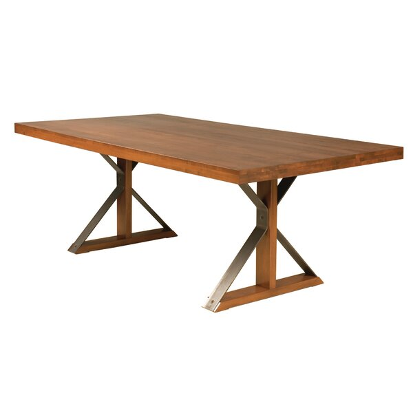 Beldale Solid Wood Dining Table by Union Rustic Union Rustic