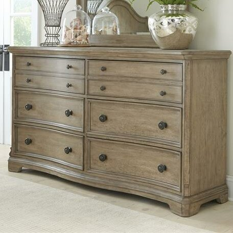 Vaucluse 6 Drawer Double Dresser by Feminine French Country