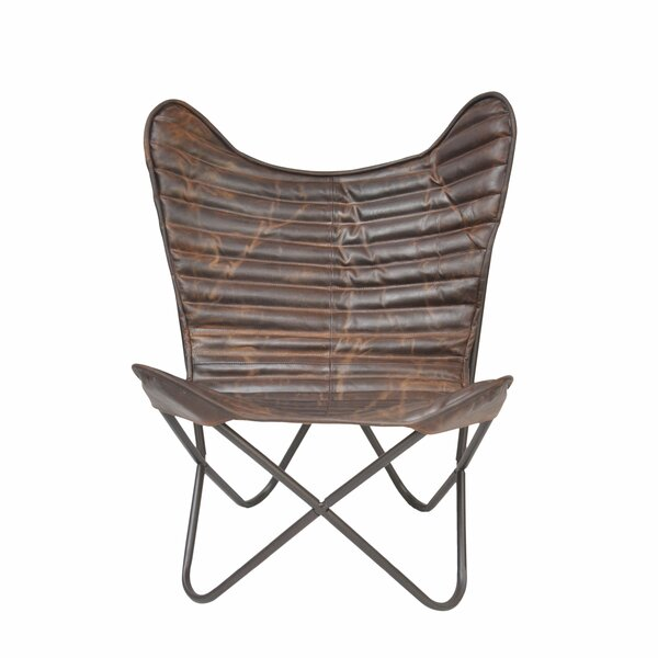 Bourg Carbon Loft Ribbed Wing Butterfly Chair By 17 Stories