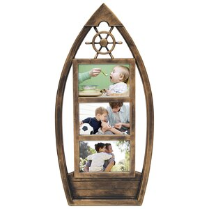 3 Opening Plastic Picture Frame