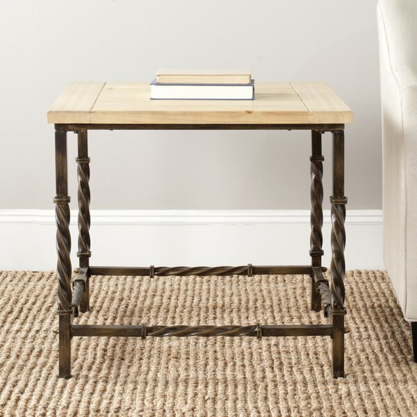 Rowan End Table by Williston Forge