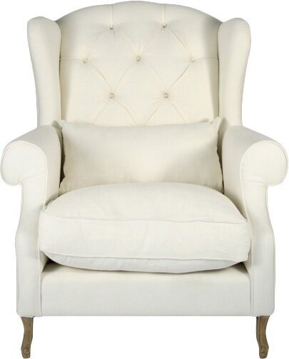 Hampton Wingback Chair by Zentique
